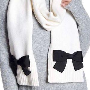 Kate Spade Cream Knit Scarf | NWT